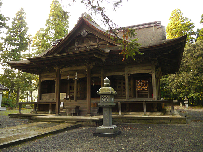 埴生護国八幡宮の写真