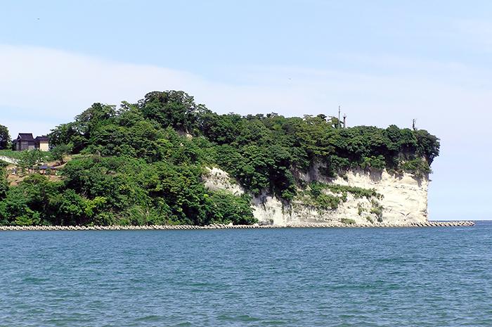 阿尾城跡の写真